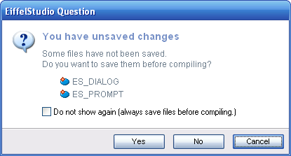 Unsaved changes dialog prompt with a subtitle